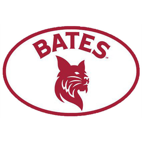 Magnetic Car Decal with Bates Bobcat - Decals, Magnets