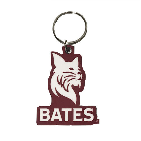 Bates Bobcat Key Tag