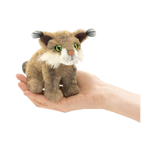 Bobcat Finger Puppet - Kids & Babies Plush, Plush, Under $15