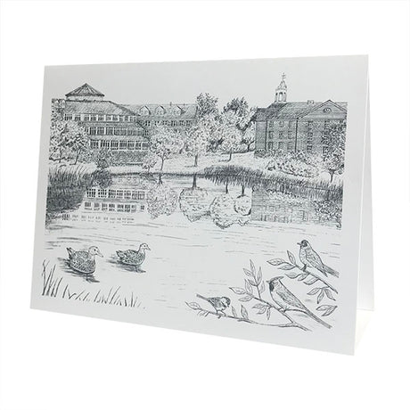 "Single Lake Andrews ""The Puddle"" Card"