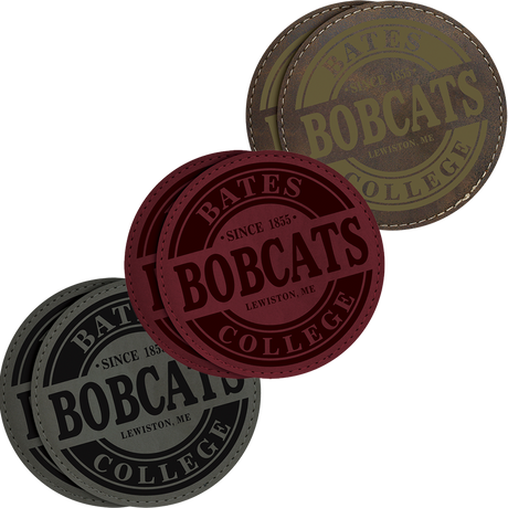 Pack of 2 Bobcats Coasters  (Three Color Options)