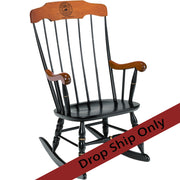 Engraved Boston Rocker Chair