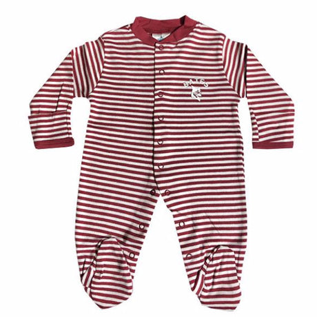 Striped Footie Romper