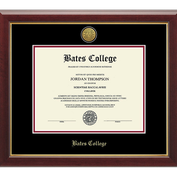 engraved gallery edition diploma frame
