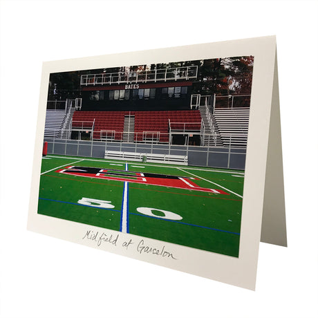 Midfield at Garcelon Photo Greeting Card