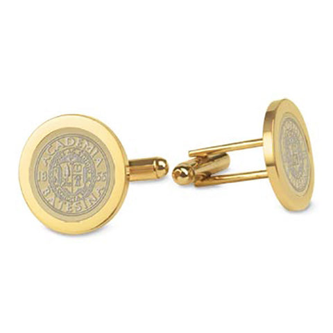 Gold Plated Cufflinks - Commencement, Gifts, Jewelry