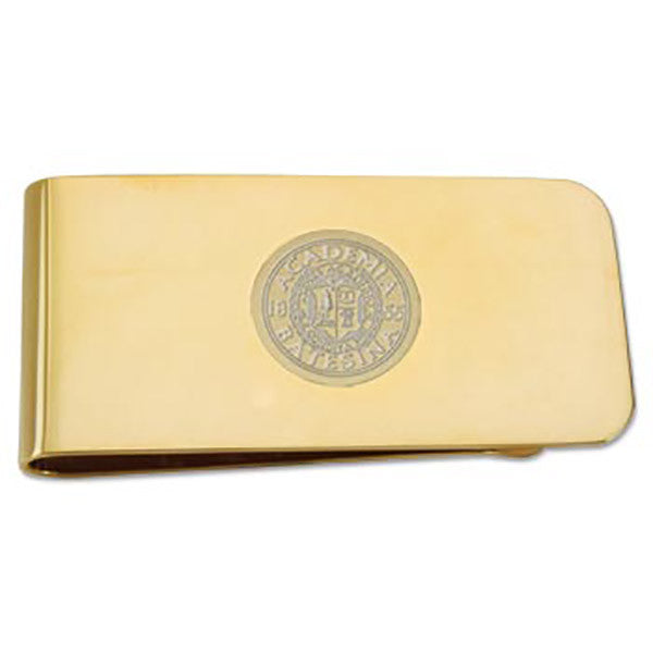 Gold Plated Money Clip - Commencement, Gifts