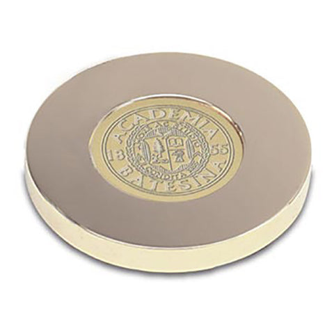 Bates Seal Gold Tone Paperweight - Commencement, Gifts