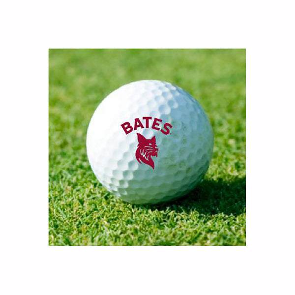Single Bates Bobcat Golf Ball