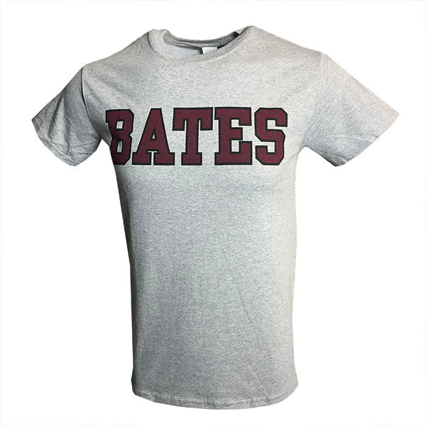 BATES Gray Short Sleeve Tee