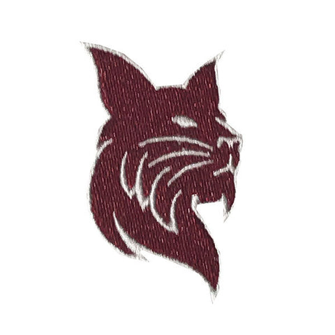 Small Bobcat Iron-on Patch - Bobcat Spirit