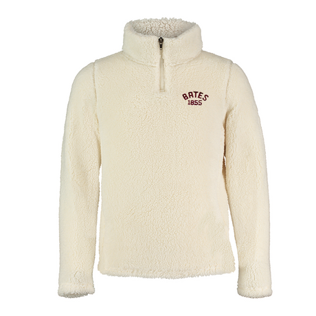 Youth Sherpa 1/4 Zip in Ivory (Y Large only)