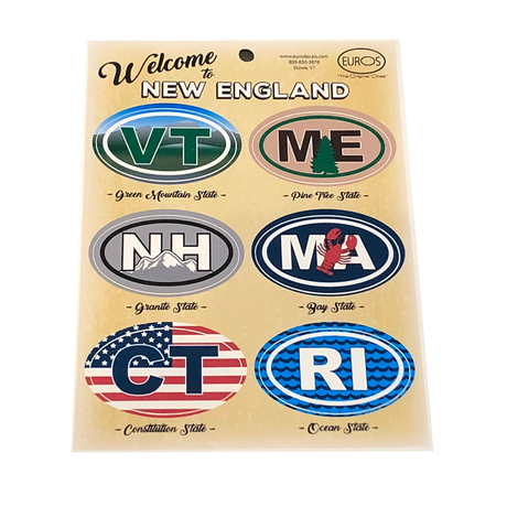 Welcome to New England Decal Set