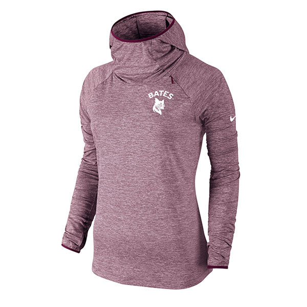 Nike Element Maroon Heather Hoodie Pullover