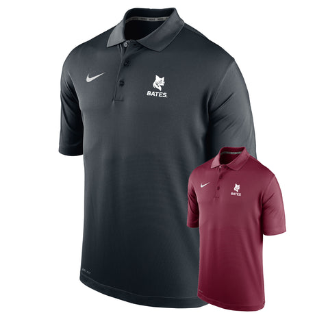 Nike Dri-Fit Polo with Bates Bobcat Imprint (Small Only)