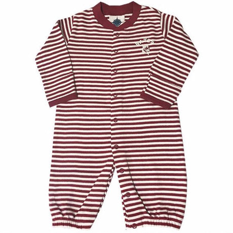 Striped Convertible Sleeper For 0-3 Month Infants