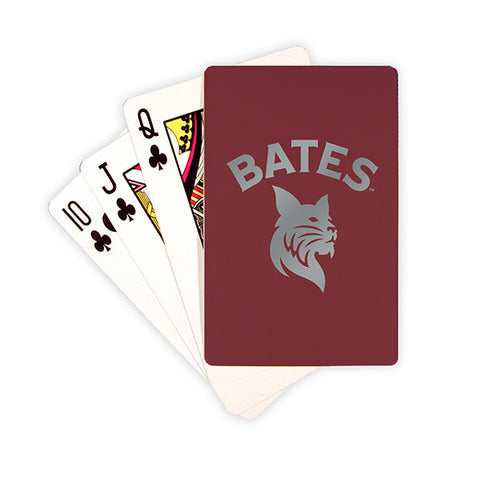 Bates Bobcats Playing Cards - Bobcat Spirit, New Item, Under $15