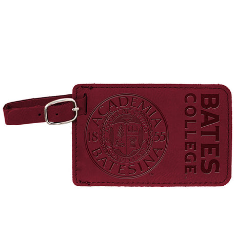 Bates Luggage Tag with Seal (3 Color Options)