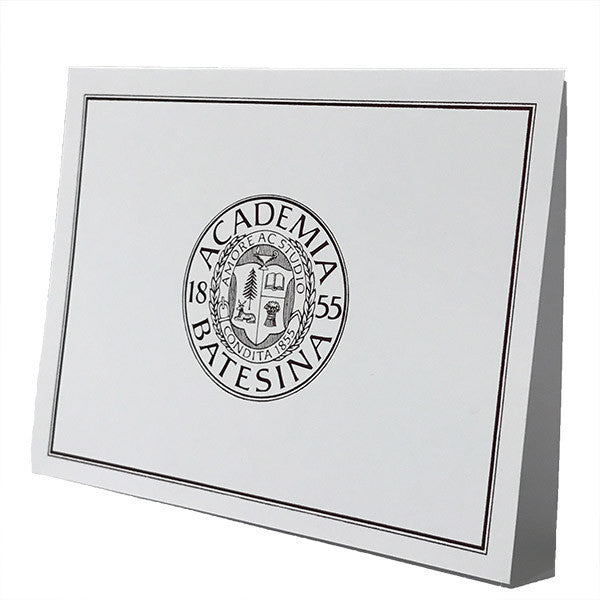 Pack of 10 Blank Bates Seal Cards - Cards, Gifts, Under $15