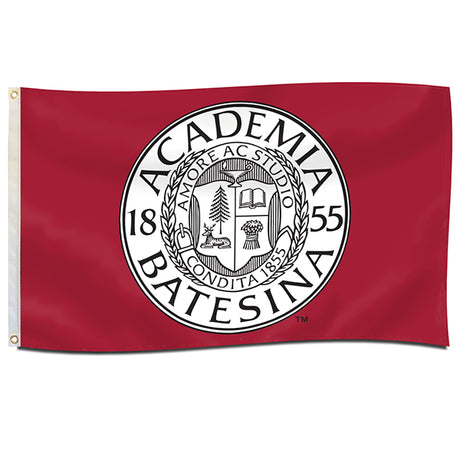 Double-Lined 3'x5' Bates Seal Flag