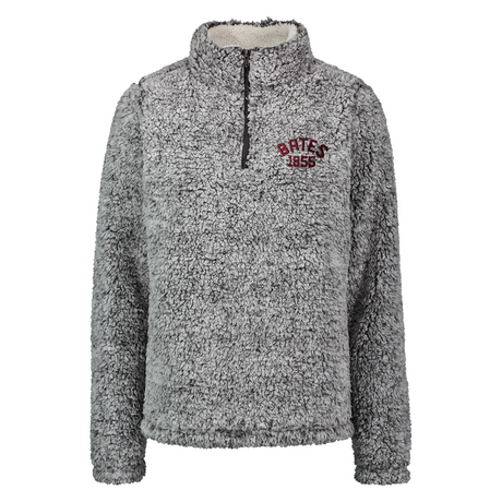 Frosted Charcoal Addison Sherpa 1/4 Zip