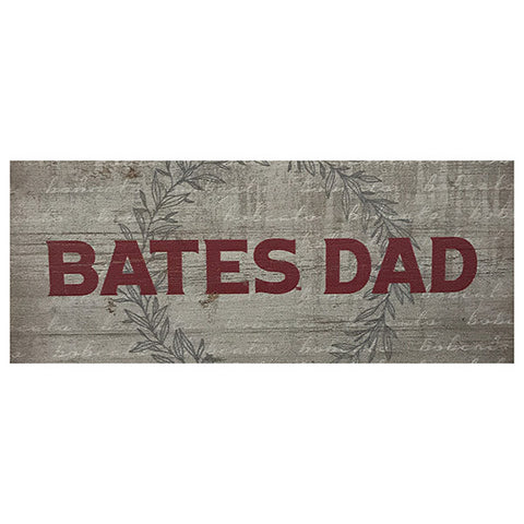 Bates College Small Wooden Sign for Dad - Decor, Under $15