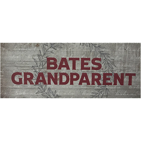 Bates College Small Wooden Sign for Grandparent - Decor, Under $15