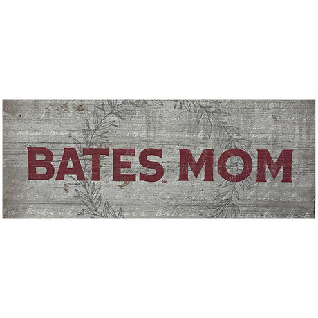Bates College Small Wooden Sign for Mom