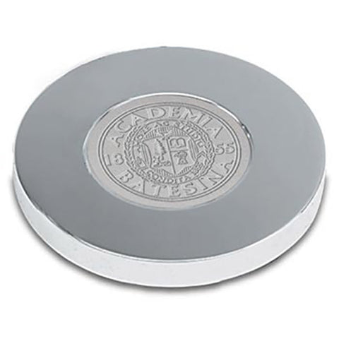 Bates Seal Silver Tone Paperweight - Commencement, Gifts
