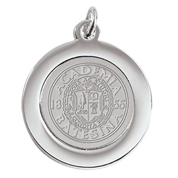 Bates Seal Charm Pendant (Silver / Gold)