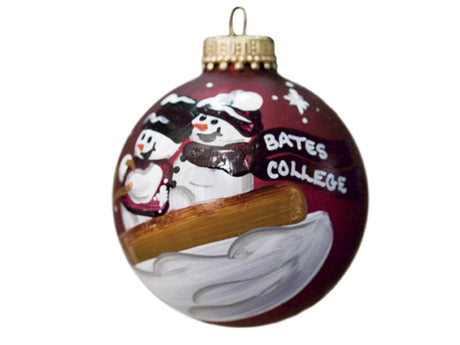 Couples Sledding Ornament
