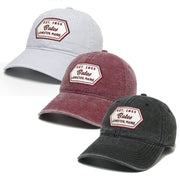 Slub Canvas Cap (3 Color Options)