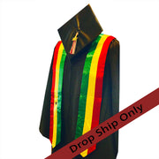 Stoles for Commencement (International, Rainbow, Kinte, Bates College)