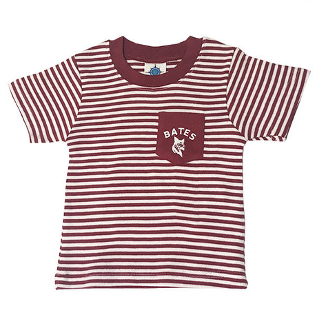Striped Bates Bobcat Infant/Toddler T-Shirt
