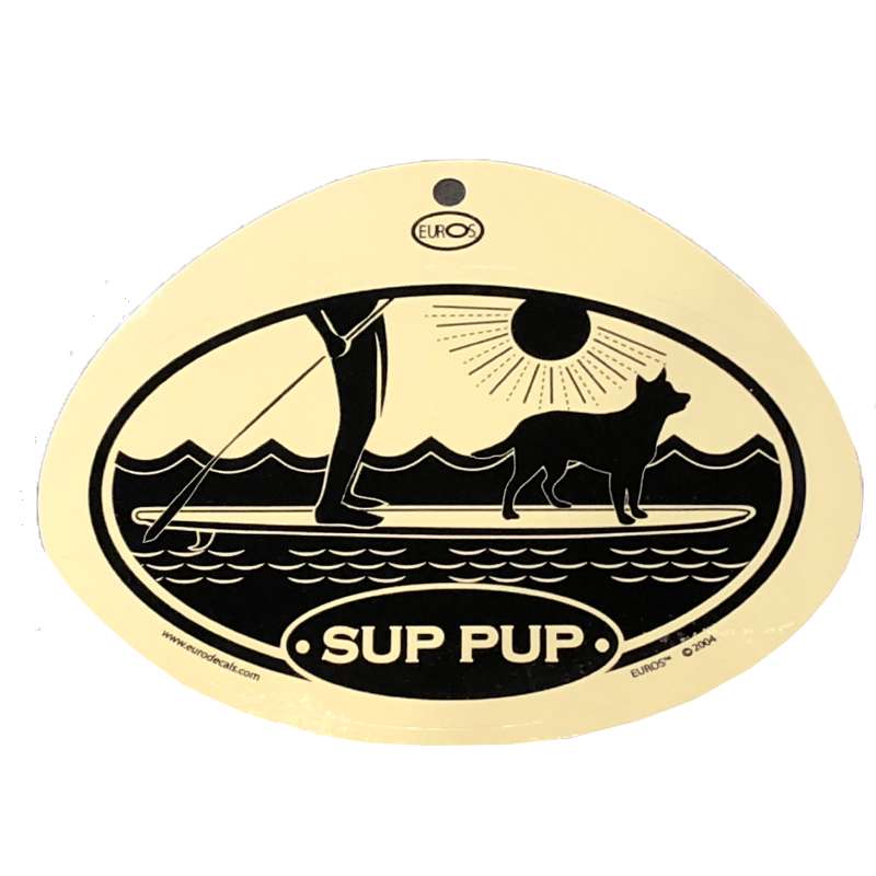 Sup Pup Decal