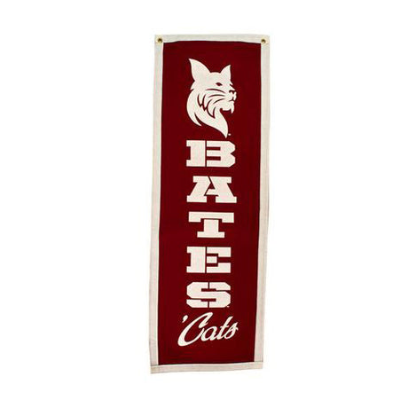 Bates Cats Vertical Banner