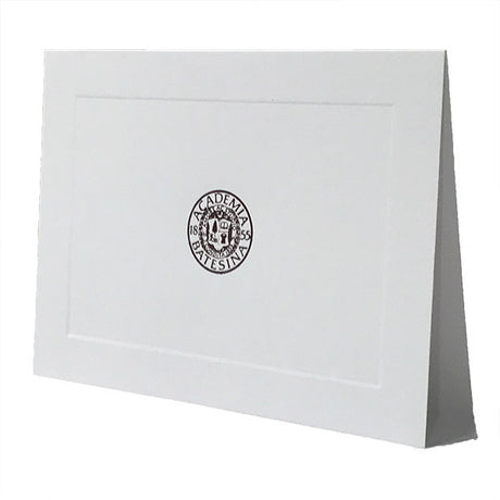 Bates Seal White Blank Cards
