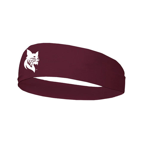 Bobcat Mascot Wide Headband - Hats, New Item, Under $15