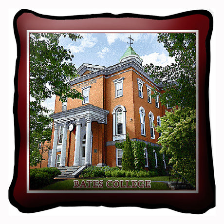 Woven Pillow of Hathorn Hall