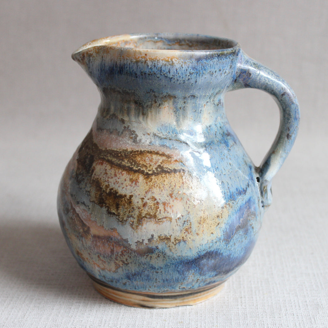 Pitcher - Blue Swirl