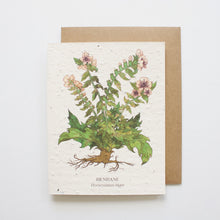 Load image into Gallery viewer, Plantable Seed Card