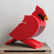 Load image into Gallery viewer, Wooden Bird Feeder