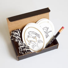 Load image into Gallery viewer, Letterpress Gift Tag Set - Little Bird