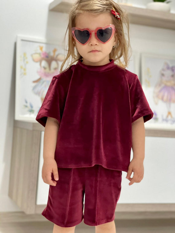 Costum Mini Alisa - Bordo