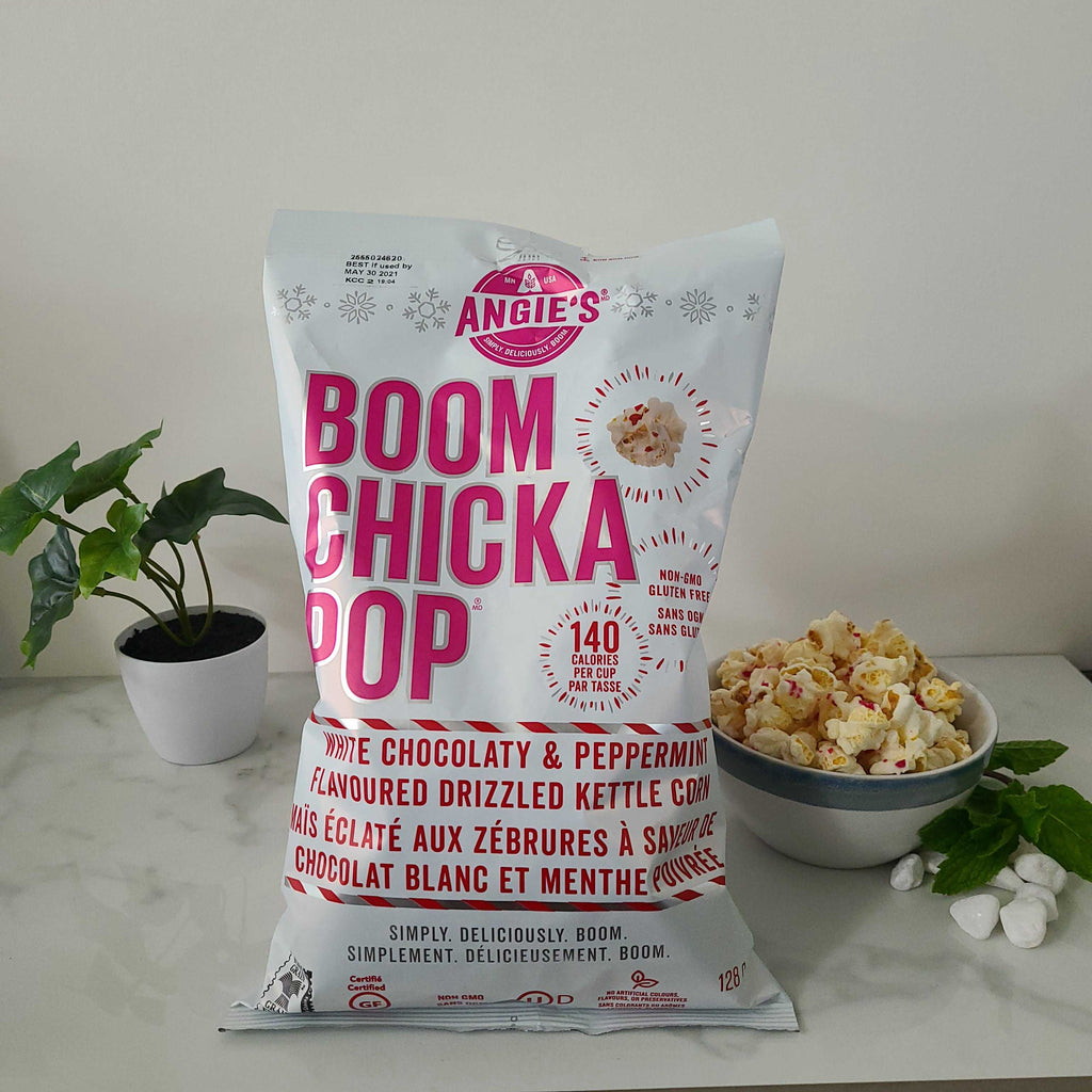 White Chocolate Peppermint Kettle Corn
