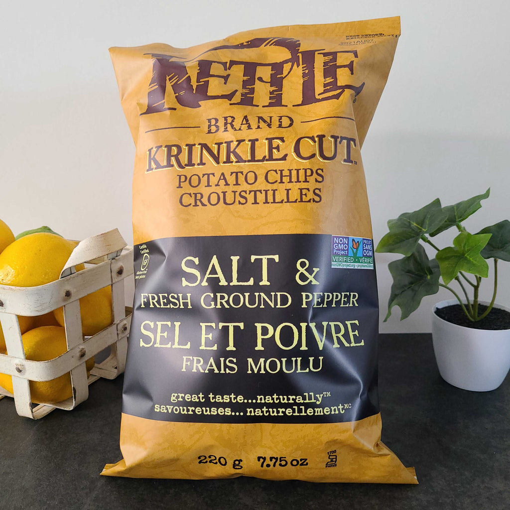 Potato Chips Salt and Fresh Ground Pepper