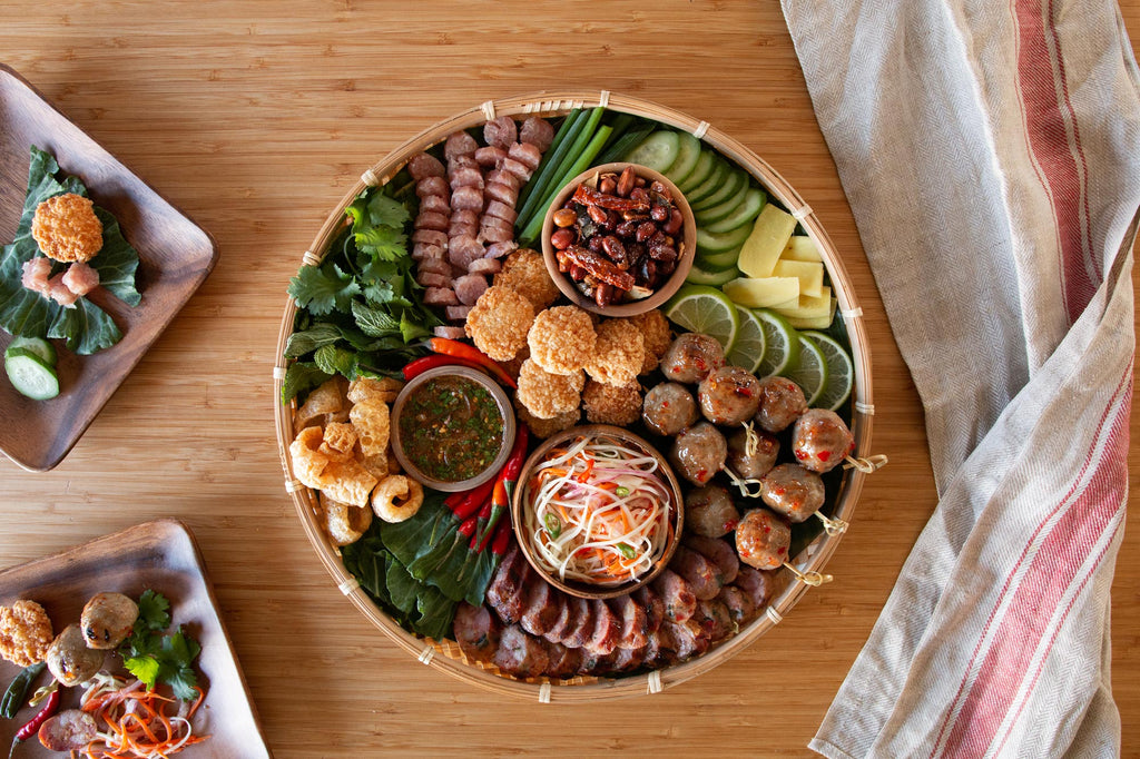 Southeast Asian-Inspired Charcuterie Board