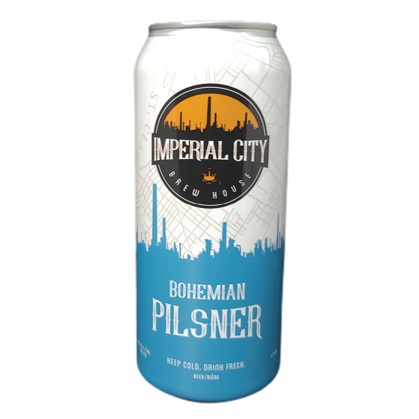 Bohemian Pilsner - imperialcitybrew