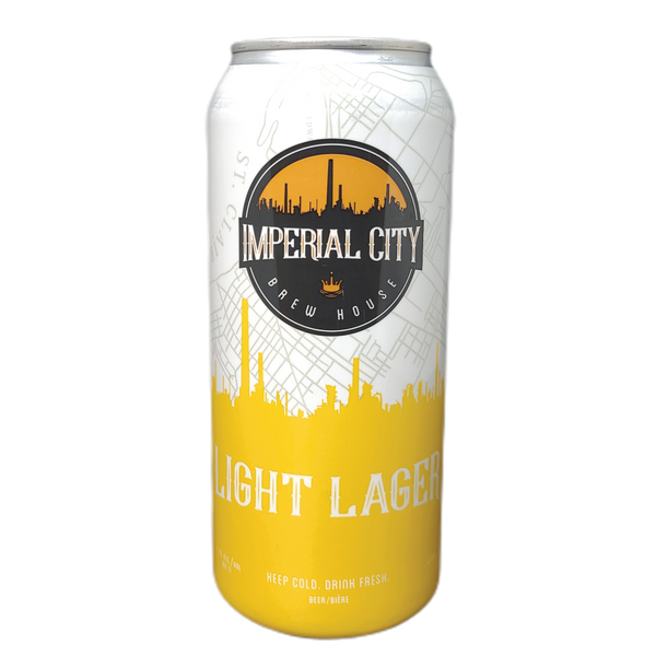 Light Lager - imperialcitybrew