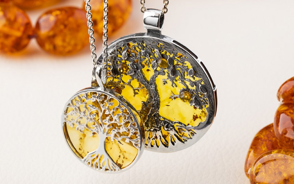 sterling-silver-amber-tree-of-life-necklaces